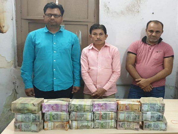 Hyderabad Task Force busted an illegal money transfer racket on Tuesday