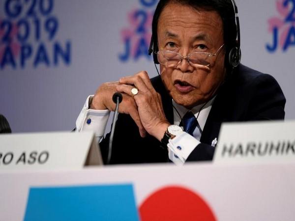 Japanese Deputy PM Taro Aso (File pic)