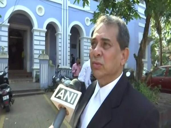 Special Public Prosecutor Francisco Tavora speaking to ANI in Goa on Wednesday. Photo/ANI