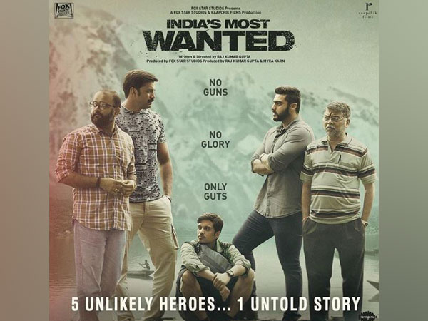 'India's Most Wanted' poster (Picture courtesy: Instagram)