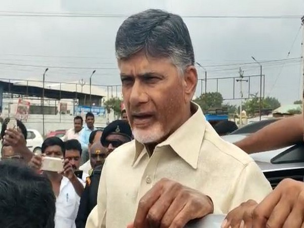 Telugu Desam Party (TDP) chief N Chandrababu Naidu. Photo/ANI