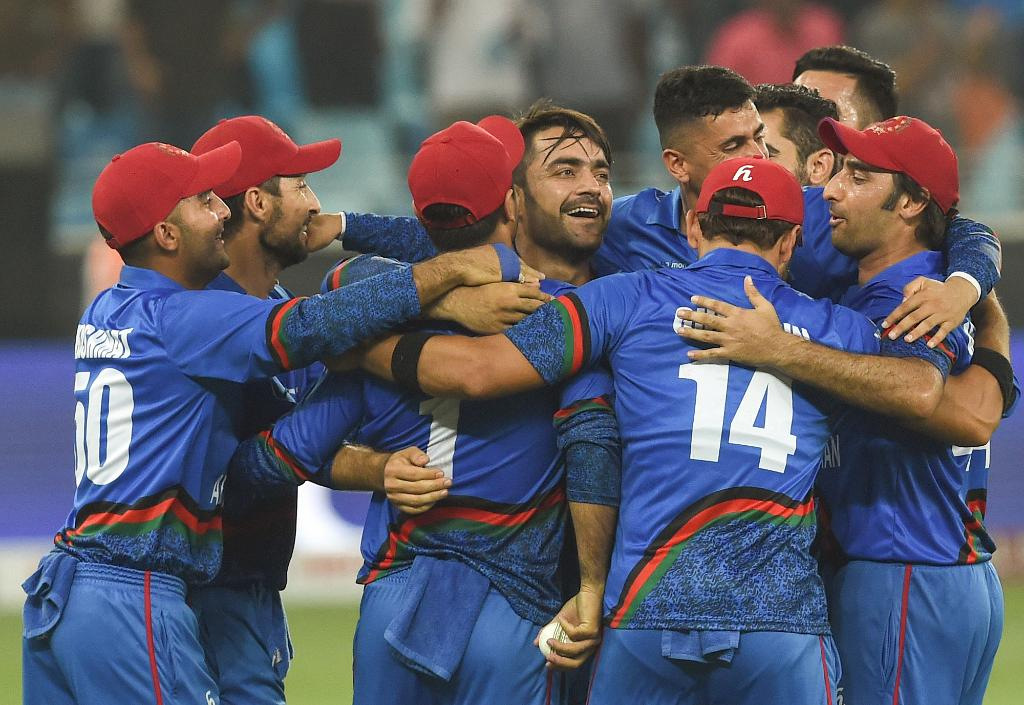 Team Afghanistan (Photo/Cricket World Cup twitter)