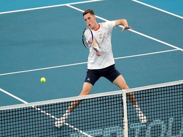 Tennis player Joe Salisbury.
