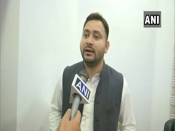 RJD leader Tejashwi Yadav speaking to ANI on Friday.