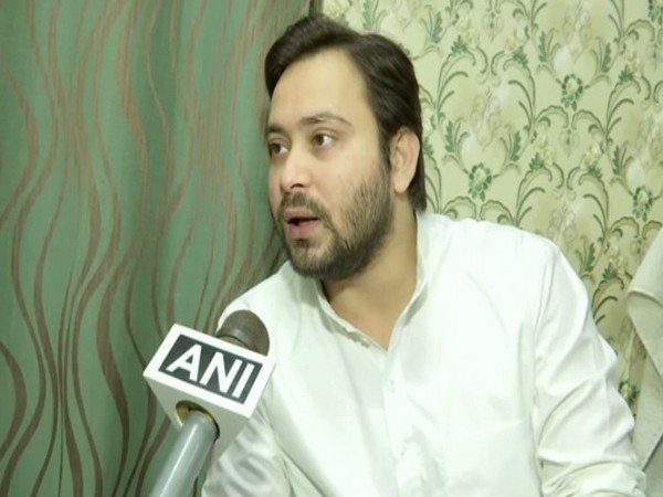 Rashtriya Janata Dal (RJD) leader Tejashwi Yadav (File Photo/ANI)