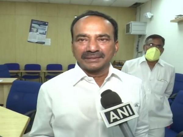 Telangana Health Minister Eatala Rajender. (File Photo/ANI)