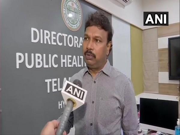Dr.Srinivas Rao, Director of Public Health and Family Welfare Telangana (File Photo)