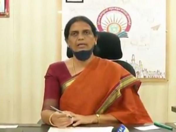 Sabita Indira Reddy, Education Minister, Telangana.  (Photo/ANI)
