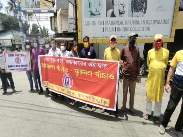 East Bengal fans take to streets in protest.