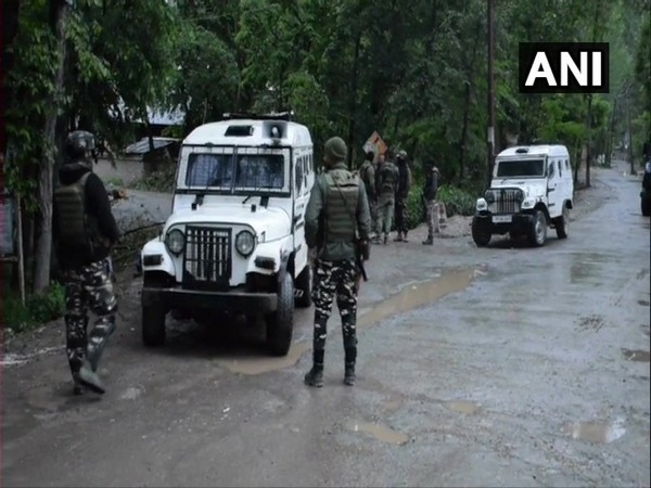 Visuals from Panzgam village in Awantipora, Jammu and Kashmir on Saturday.