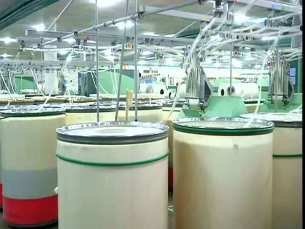 Textile industry in Coimbatore (Photo/ANI)