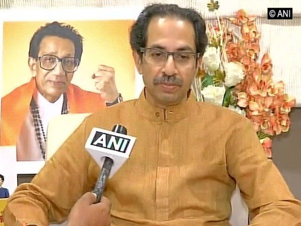 Shiv Sena chief Uddhav Thackeray (File picture)