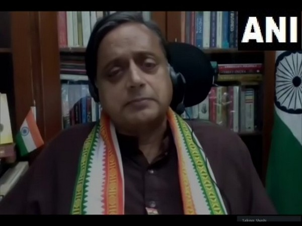 Congress leaders Shashi Tharoor