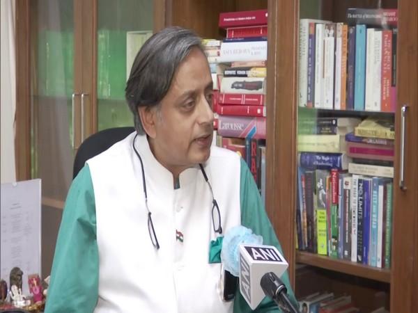 Congress leader Shashi Tharoor. (Photo/ ANI)