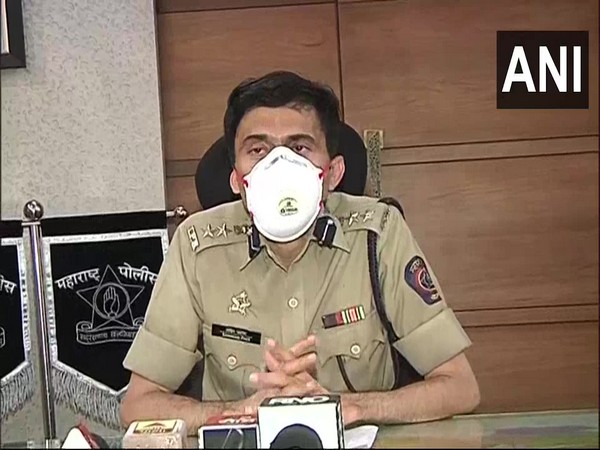 Sandip Patil, Superintendent of Police (Rural Pune) speaks to ANI. (Photo/ANI)