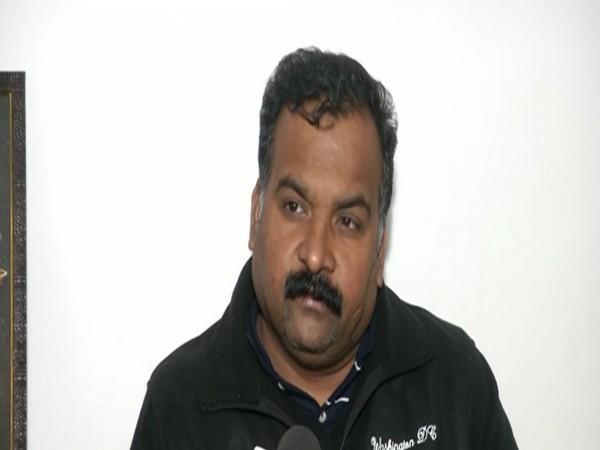 Telangana Congress in-charge Manickam Tagore. [Phoyto/ANI]