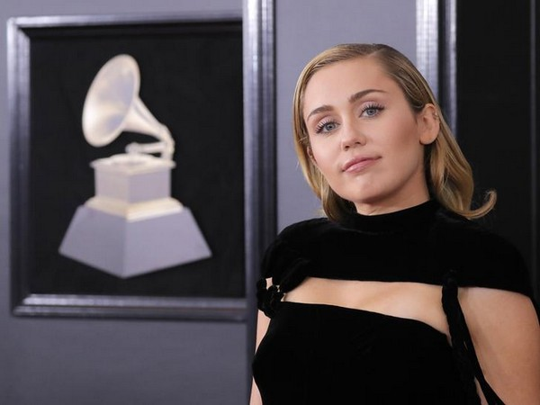 Miley Cyrus at 60th Annual Grammy Awards