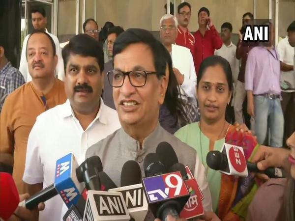 Maharashtra Congress president Balasaheb Thorat talking to media persons in Mumbai on Wednesday