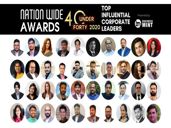 40 UNDER 40 TOP INFLUENTIAL CORPORATE LEADERS - Nationwide Awards 2020