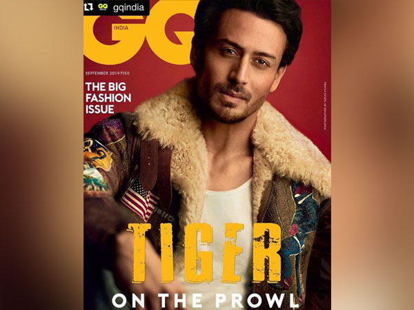 Tiger Shroff on the cover of GQ India magazine cover (Image courtesy: Instagram)