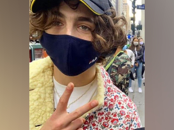 Timothee Chalamet in the New York City. (Image courtesy: Instagram)
