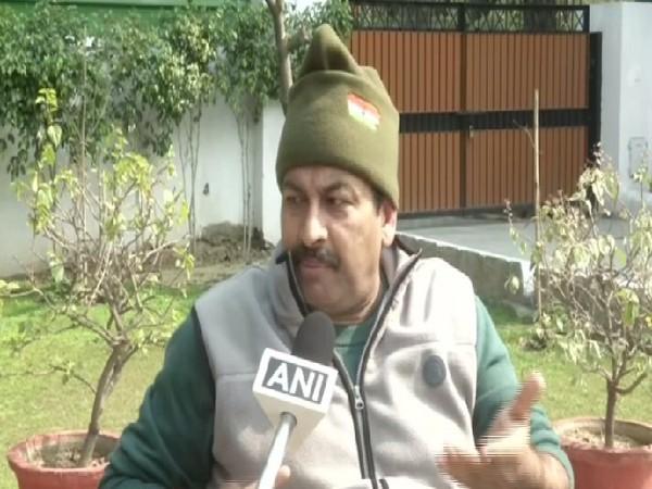 BJP MP Manoj Tiwari speaking to ANI in New Delhi.