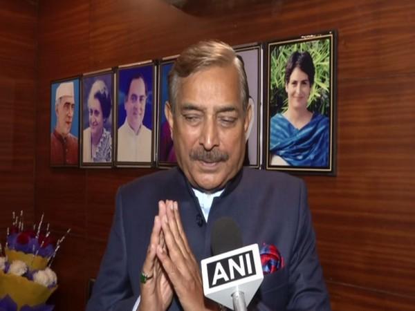 Congress leader Pramod Tiwari. Photo/ANI