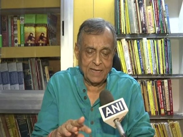 Chhattisgarh Advocate General Kanak Tiwari talking to ANI at Raipur on Tuesday