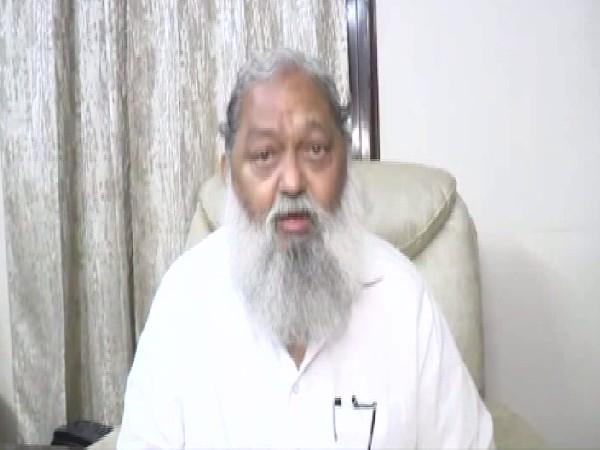 Haryana Home Minister Anil Vij (Photo/ANI)