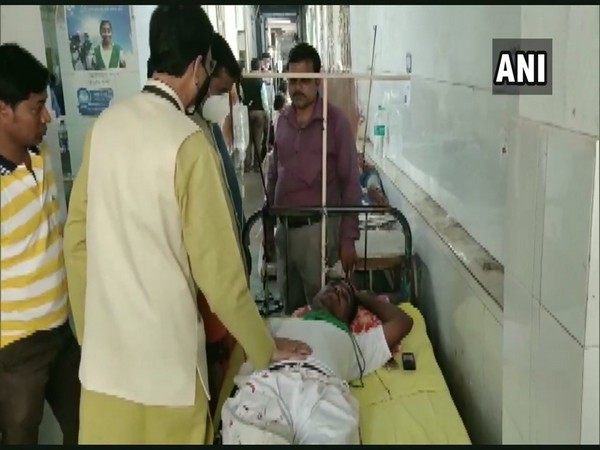 A visual from the hospital where BJP workers are receiving treatment. (Photo/ANI)