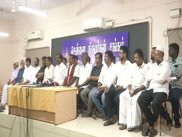Leaders of over 40 political parties and outfits gathered in Chennai to announced the formation of a coalition to oppose the Ayodhya verdict. Photo/ANI