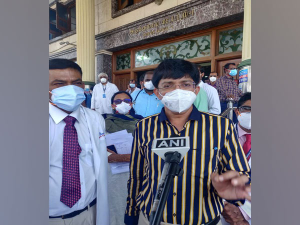 Tamil Nadu Health Secretary Dr J Radhakrishnan (Photo/ANI)