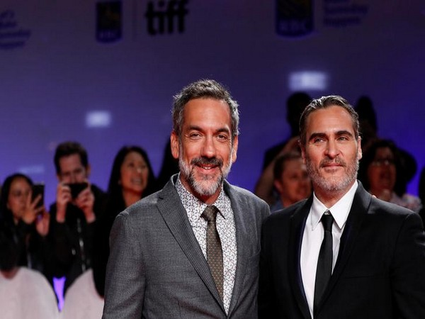 Director Todd Phillips along with Joaquin Phoenix
