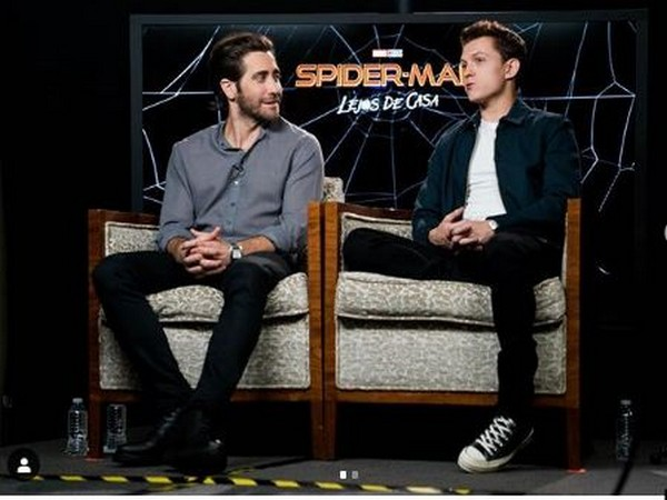 Jake Gyllenhaal and Tom Holland (Image Courtesy: Instagram)