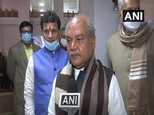 Union Agriculture Minister Narendra Singh Tomar (File pic)