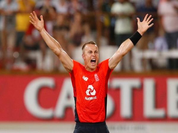 England cricketer Tom Curran