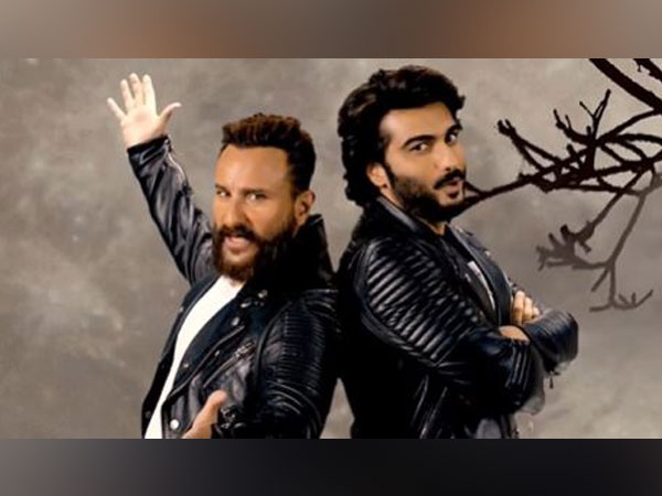 Saif Ali Khan and Arjun Kapoor (Image source: Instagram)