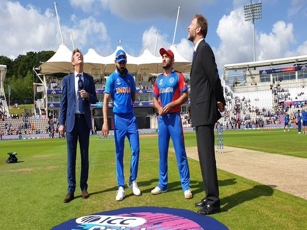 India won the toss and elected to bat first against Afghanistan (Photo/ BCCI Twitter)