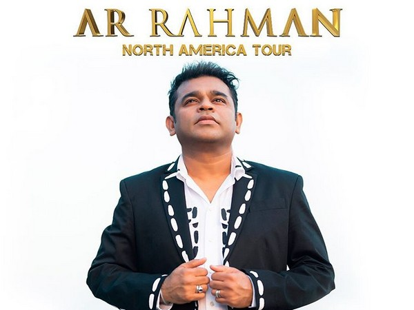 A poster of the North America Tour shared by composer AR Rahman (Image courtesy: Instagram)