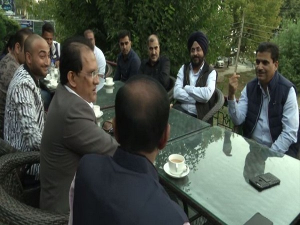Tour operators visited Kashmir on Wednesday to assess the ground reality in the valley