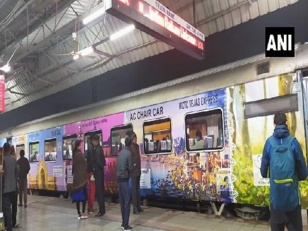 Lucknow-Delhi Tejas Express.