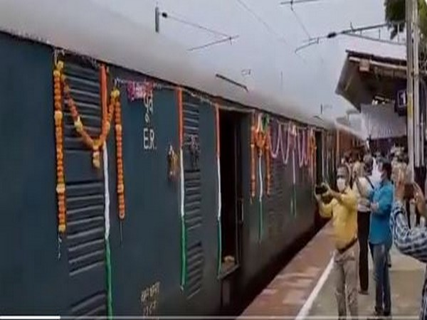 Visual of Kisan Rail