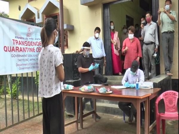 A dedicated Transgender Quarantine Centre has also been set up at Government ldeal Blind School, Takyelpat, Imphal West to quarantine those coming from Green zone.