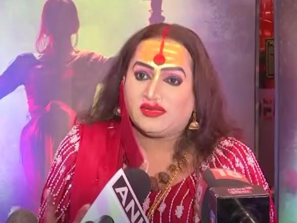 Transgender activist Laxmi Narayan Tripathi (Photo/ANI)