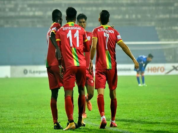 TRAU FC crush Indian Arrows 5-1 (Image: Hero I-League's Twitter)