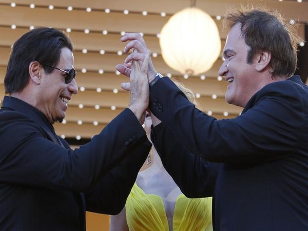 John Travolta and Quentin Tarantino