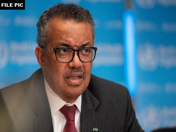 Tedros Adhanom, Director General of WHO (File pic)