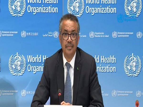 WHO director-general Tedros Adhanom Ghebreyesus