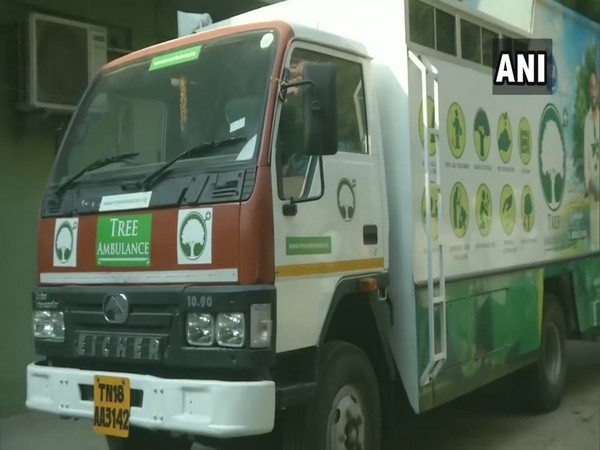 Tree ambulance launched in Chennai, aims at planting uprooted trees and offer services like seed ball distribution