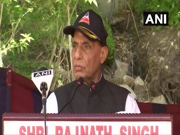Defence Minister Rajnath Singh, (Photo/ANI)